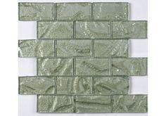 Sage Sparkle Mosaic Tiles x