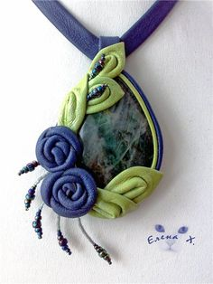 Work with the skin for beginners. - Fair Masters - handmade, handmade this would look nice with polymer clay Leather Bracelet Tutorial, Leather Tutorial, Leather Diy Crafts, Leather Craft, Handmade Flowers, Handmade Crafts, Textiles, Diy Wallet, Polymer Clay Necklace