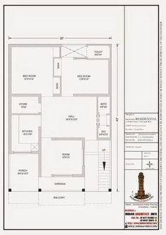 30x50 House Plans, City Road, Villa Design, Home Decor Bedroom, Ground Floor, Modern Contemporary, Floor Plans, Indian, Flooring