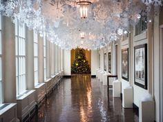snowflake ceiling!
