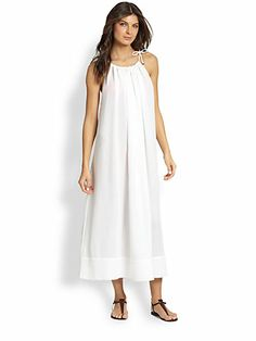 Chloé - Woven Beach Dress - Saks.com