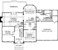 Floor Plan First Floor | Dream Home Floor PLans | Pinterest ...