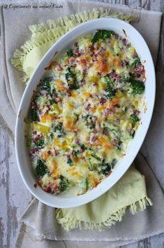 Kartoffel-Brokkoli-Auflauf | Kartoffel mal anders | Rezept | Essen | Kochen
