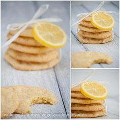 Zitronenkekse mit Vanille und weißer Schokolade >> feed me up before you go-go