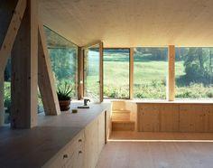 Stöckli in Balsthal de Pascal Flammer Architekten | Maisons particulières