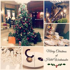 Christmas atmosphere at the Hotel #Westminster #Paris #France. #luxuryhotel #decoration #food #vendome #afternoontea