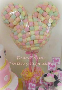 Topiario Minnie Mouse.... by Dulce Villa - Tortas y Cupcakes ♥♥♥ #sweet #cute #party #fiesta #decoraciones #minniemousetheme #baby