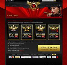 7RED - Best online casino games by Dima Kordun, via Behance