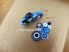 Sweet Blue Candy Crush Earrings
