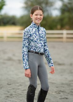 Kerrits' popular girls riding pants, girls riding tops and more. Perfect kids equestrian apparel for riding or wearing to school. Horse Riding Pants, Horse Gear, Popular Girl, Fishnet Stockings, Equestrian Outfits, Kids Pants, Horseback Riding, Kids Outfits, My Style
