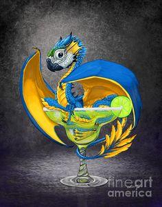 Margarita dragon by Stanley Morrison