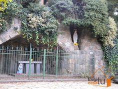 Gruta de la Virgen de Lourdes del Calvario de Tandil.
