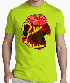 Pacman Zombies Terror Horror Cine TV humor Zombie camisetas friki