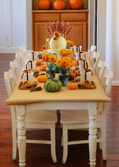 Kids' Thanksgiving Table | Happy Wish Company