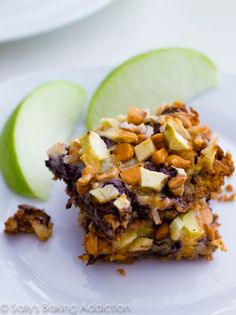Apple Butterscotch 7 Layer Magic Bars by Sallys Baking Addiction