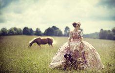 BOO GEORGE - British Vogue October 2012 — Pastures New