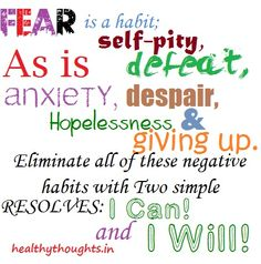 resolve-I-can-and-i-will | HealthyThoughts.in - Inspirational ...