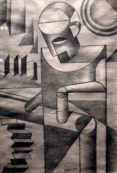 Fortunato Depero - Robot (for the Suicide Institute of Clavel)  (1917)