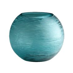 The color of this Droplet vase reminds of the water in Riviera Maya!