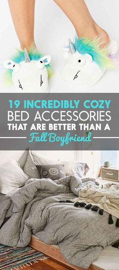 19 Incredibly Cozy Bed Accessories That Are Better Than A Fall Boyfriend