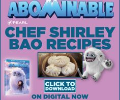 ABOMINABLE is only a week away from being released on 4K Ultra HD™, Blu-ray™ & DVD, and in celebration, we have fun and unique downloadable Bao recipes created by Top Chef 's Chef Shirley Chung!Download & PrintSTAY SOCIAL WITH ABOMINABLE Facebook | Instagram | Twitter #AbominableMovieSharing is caring!Post navigation← FREE GUY Trailer Starring Ryan ReynoldsLeave a ReplyLogged in as Admin. Log out?Comment This site uses Akismet to reduce spam. Learn how your comment data is proc