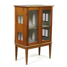 Old Cabinet into a Dollhouse