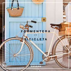 Circuitos verdes de Formentera en bicicleta. Mapa y folleto gratuito completo en pdf de los 20 caminos y excursiones para recorrer la isla. Vacation Places, Dream Vacations, Places To Travel, Places To Go, Menorca, Formentera Spain, See World, Cap Ferret, Ibiza Fashion