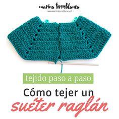 Con ustedes LA-SÚPER-MEGA-ULTIMATE-CHILUPI-OF-THE-GALAXY guía definitiva de Como tejer un suéter raglán a #crochet con fotos, texto, paso a paso, ¡mega clarito y fácil! ✨ Por favor, si te sirvió ¡cuéntame! ¡me encantaría saberlo! Encuentra el post completo en mi blog!  marinatorreblanca.cl #tutorial #pasoapaso #crochet #diy #tejer #tejido #tejeresmisuperpoder #knit #knitting #ganchillo
