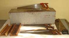 Antique Disston Carpentar Saw Lot And by ASHLANDOREGONANTIQUE, $369.00
