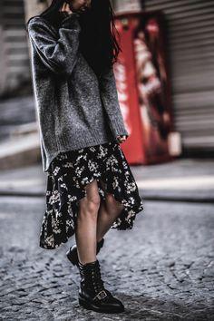 SWEATER OVER DRESS – Belle Melange