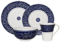 222 Fifth 16-Pc. Coraline Dinnerware Set | Dinnerware and Tablewares