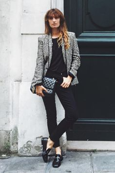 Caroline de Maigret's Insta feed (@carolinedemaigret) is a treasure trove of outfit inspo. Follow her for elevated ensembles with a mix of editorial inspiration.