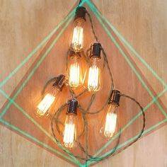 Manhattan Project Lamps