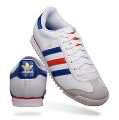 Adidas Originals Rom Mens Leather Trainers  Shoes White The legacy of  the Adidas Rom
