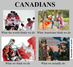 We actually are like Bob & Doug . from meanwhile in Canada facebook.