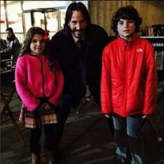 Keanu Reeves and fans