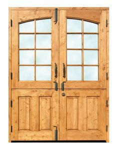 Dutch Doors - Double Dutch French Doors - 3222RP. For sunroom/playroom