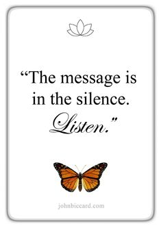 """♔ """"The message is in the silence Listen. Poetry Quotes, Bible Quotes, Bible Verses, Women Empowerment Quotes, Motivational, Inspirational Quotes, Afrikaans Quotes, Love Me Quotes, Qoute"""