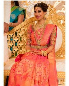 Simple South Indian Bride