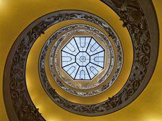 Vatican Staircase by Bill McKelvie, via 500px