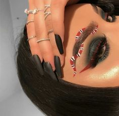 follow @trillyaniaa96 for more | gucci inspired makeup look |