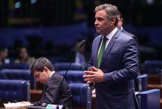 """Em ato falho, Lewandowski agradece ao senador Aécio """"Néscio"""" no julgamento de Dilma"""