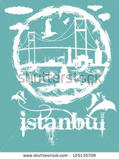 Istanbul City Vector Art - 125135708 : Shutterstock