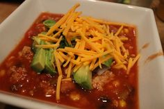 Crock Pot Chili  #crockpot #recipes