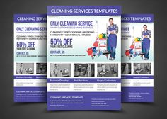 Download The Free Cleaning Service Flyer PSD Template For - Cleaning brochure templates free