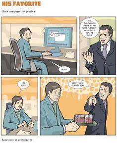 His Favorite - a comic by Ayal Pinkus