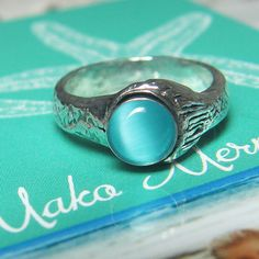 NEW Mako Mermaid Ring Sterling Silver 925 by thesilverart on Etsy, $60.00