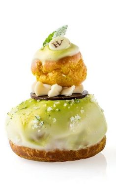 Religieuse à la verveine - Hugo & Victor So I don't know what this is but I'.. will try it.
