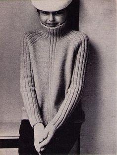 Ravelry: 25 Raglan sweater with funnel neckline pattern by Vogue Knitting UK