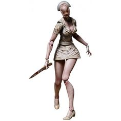 figma Bubble Head Nurse from Silent Hill #toys #figurines #horror